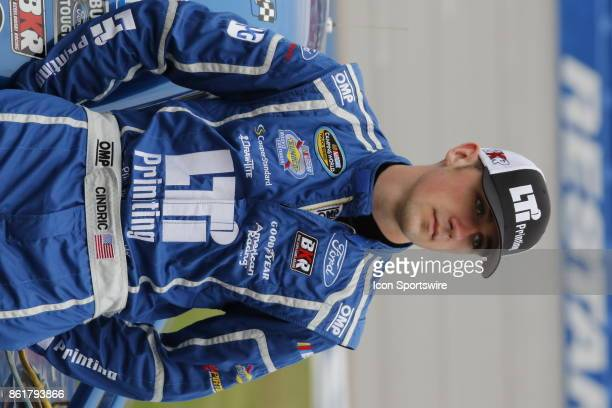 Austin Cindric LTI Printing Ford F150 during qualifying for the Freds 250 Camping World Truck Series race on October 14 2017 at Talladega Motor...