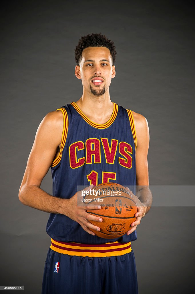 <a gi-track='captionPersonalityLinkClicked' href=/galleries/search?phrase=Austin+Daye&family=editorial&specificpeople=4682416 ng-click='$event.stopPropagation()'>Austin Daye</a> #15 of the Cleveland Cavaliers during the Cleveland Cavaliers media day at Cleveland Clinic Courts on September 28, 2015 in Independence, Ohio.