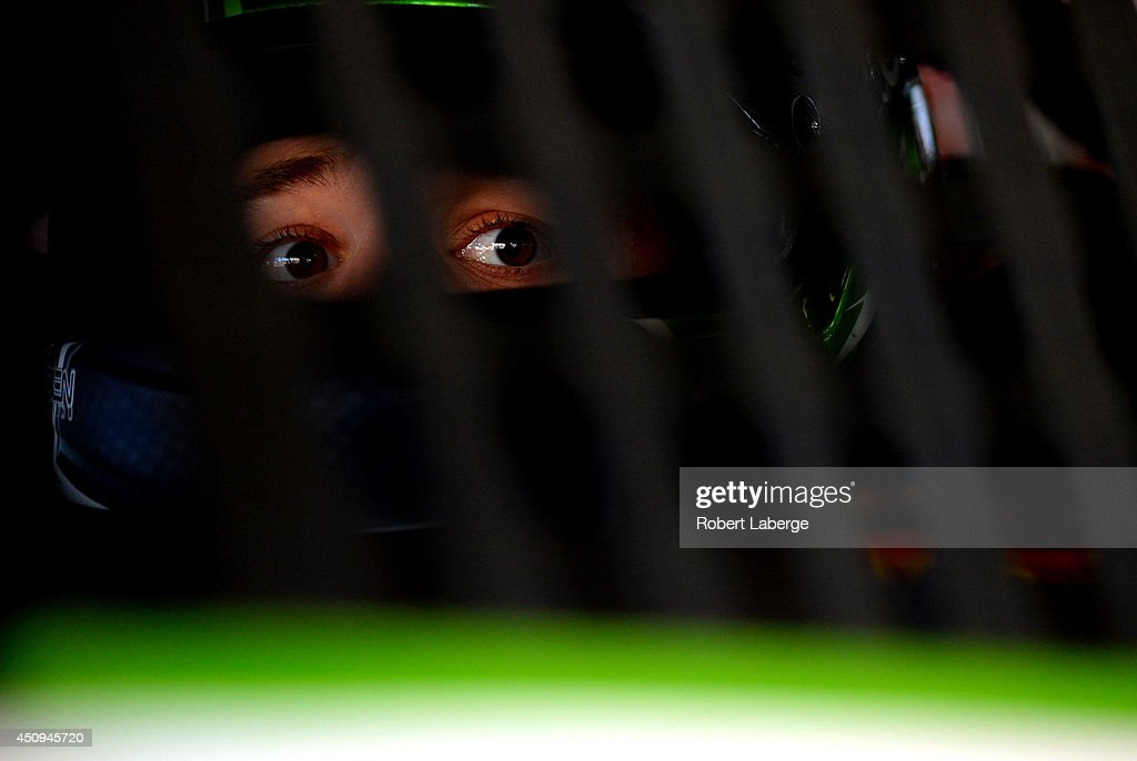<a gi-track='captionPersonalityLinkClicked' href=/galleries/search?phrase=Austin+Dillon&family=editorial&specificpeople=5075945 ng-click='$event.stopPropagation()'>Austin Dillon</a>, driver of the #3 Dow Chevrolet, sits in his car during practice for the NASCAR Sprint Cup Series Toyota/Save Mart 350 at Sonoma Raceway on June 20, 2014 in Sonoma, California.