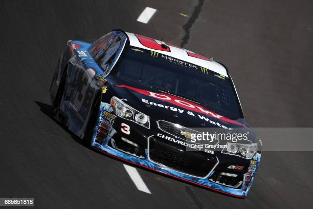 Austin Dillon driver of the DOW Energy Water Chevrolet practices for the Monster Energy NASCAR Cup Series O'Reilly Auto Parts 500 at Texas Motor...
