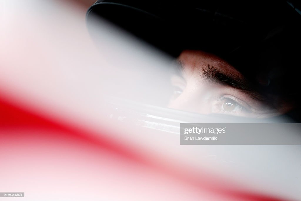 <a gi-track='captionPersonalityLinkClicked' href=/galleries/search?phrase=Austin+Dillon&family=editorial&specificpeople=5075945 ng-click='$event.stopPropagation()'>Austin Dillon</a>, driver of the #2 Rheem Chevrolet, sits in his car during practice for the NASCAR XFINITY Series Sparks Energy 300 at Talladega Superspeedway on April 29, 2016 in Talladega, Alabama.