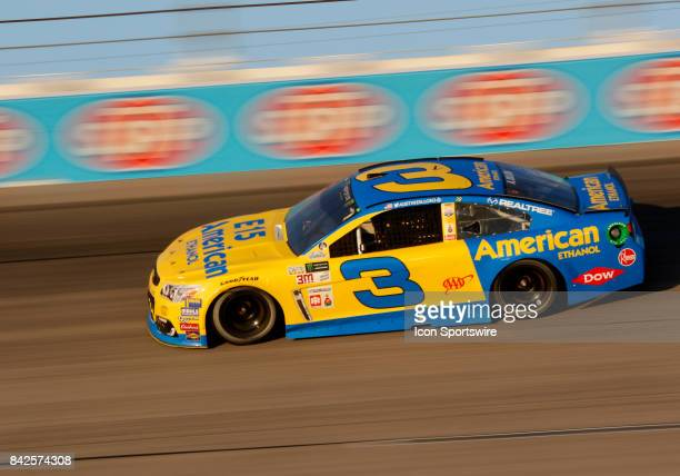 Austin Dillon Richard Childress Racing E15 American Ethanol Chevrolet SS during the Bojangles Southern 500 on September 3 at Darlington Raceway in...