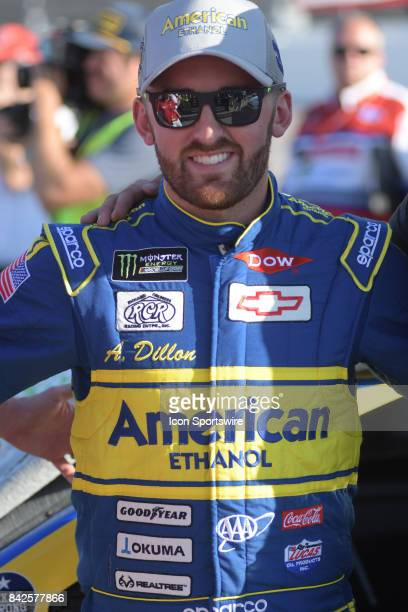 Austin Dillon Richard Childress Racing E15 American Ethanol Chevrolet SS before the NASCAR Monster Energy Cup Series Bojangles Southern 500 on...