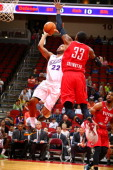 Austin Freeman of the Iowa Energy fdrives to the basket against the Rio Grande Valley Vipers in an NBA DLeague game on April 12 2014 at the Wells...