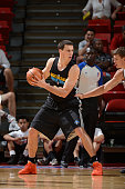 Austin Freeman of the New Orleans Hornets looks to shoot against the Portland Trail Blazers during NBA Summer League on July 15 2012 at the Thomas...