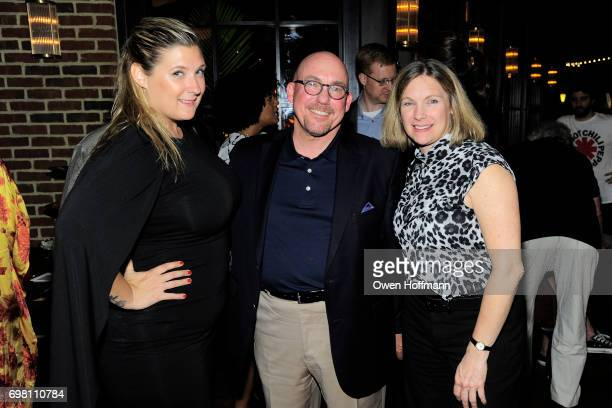 Austin Fremont David Jones and Laurie Anne attend Second Mudd Club Rummage Sale at Roxy Hotel at The Roxy Hotel on June 12 2017 in New York City