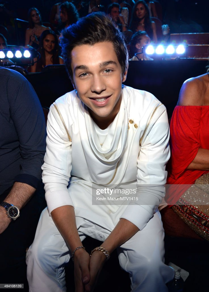 Austin Mahone attends the 2014 MTV Video Music Awards at The Forum on August 24 2014 in Inglewood California