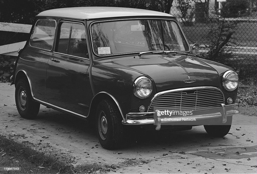 Austin Mini Cooper S MKII. The S model is the performance-minded Mini with larger displacement engine and new for this model year. Exports of the Mini to the United States however cease in 1967.