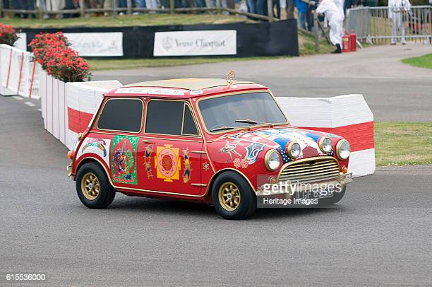 Austin Mini Cooper S owned by Beatle George Harrison Artist Unknown