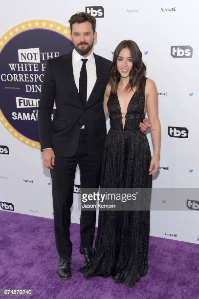 Austin Nichols and Chloe Bennet attend Full Frontal With Samantha Bee's Not The White House Correspondents' Dinner at DAR Constitution Hall on April...