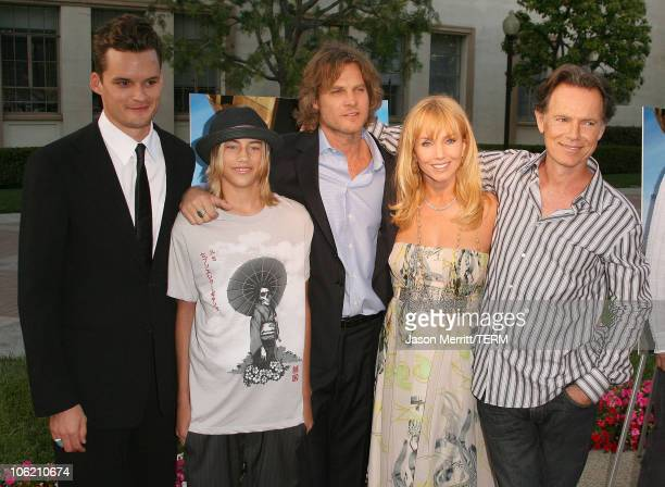 Austin Nichols Greyson Fletcher Brian Van Holt Rebecca De Mornay and Bruce Greenwood