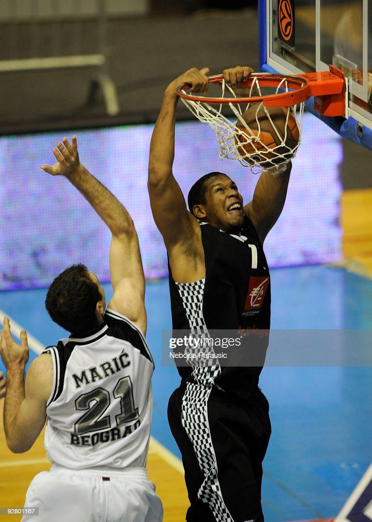 Partizan Belgrade v Entente Oreleaise - EuroLeague Basketball