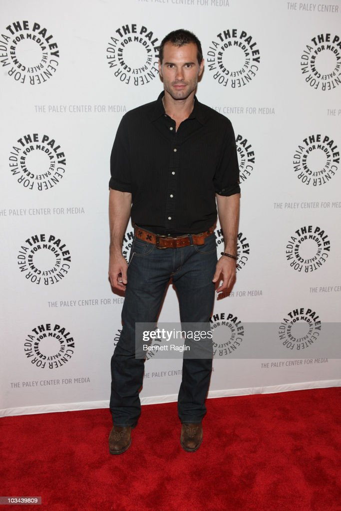 Austin Peck attends a farewell to cast of 'As The World Turns' at The Paley Center for Media on August 18, 2010 in New York City.