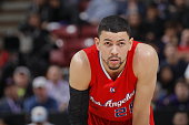 Austin Rivers of the Los Angeles Clippers gets ready to take on the Sacramento Kings at Sleep Train Arena on January 17 2015 in Sacramento California...