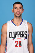 Austin Rivers of the Los Angeles Clippers poses for a headshot during media day at the Los Angeles Clippers Training Center on September 25 2015 in...