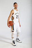 Austin Rivers of the New Orleans Pelicans poses for photos during NBA Media Day on September 29 2014 at the New Orleans Pelicans practice facility in...