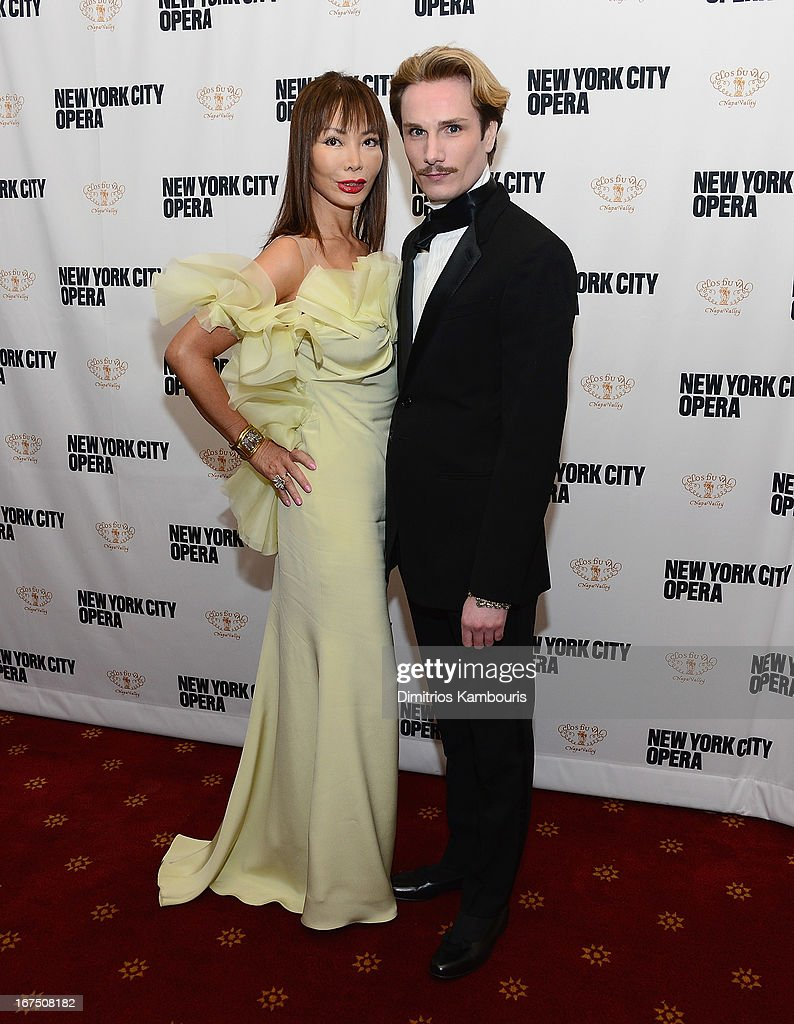 <a gi-track='captionPersonalityLinkClicked' href=/galleries/search?phrase=Austin+Scarlett&family=editorial&specificpeople=755265 ng-click='$event.stopPropagation()'>Austin Scarlett</a> and guest attend the 2013 New York City Opera Spring Gala at New York City Center on April 25, 2013 in New York City.