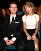 Austin Swift and recording artist Taylor Swift attend the 49th Annual Academy of Country Music Awards at the MGM Grand Garden Arena on April 6 2014...