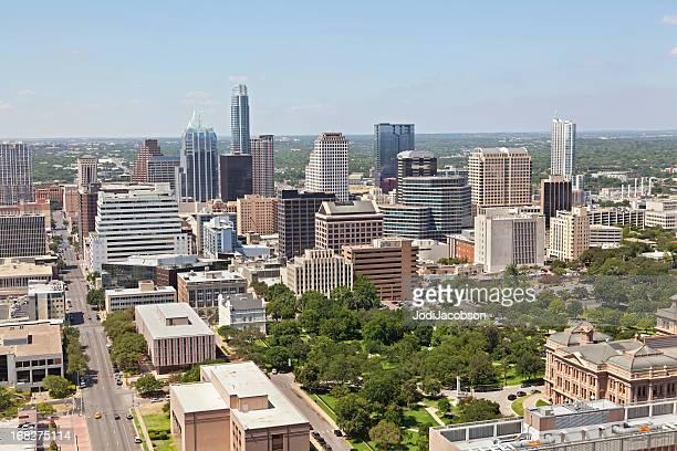 aerial Stadtansicht von Austin, Texas
