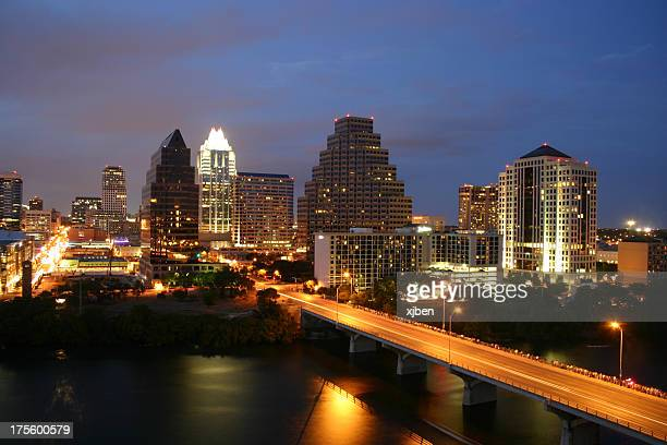 Austin Texas Skyline - Unique Perspective