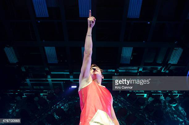 Austine Mahone performs at The Fillmore Silver Spring on March 4 2014 in Silver Spring Maryland