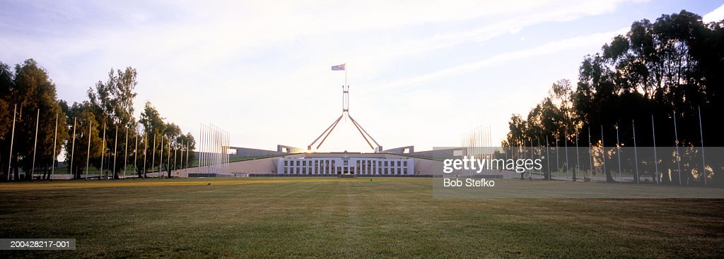 Australia, Canberra, Parliament House on Capital Hill