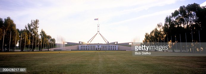 Australia, Canberra, Parliament House on Capital Hill