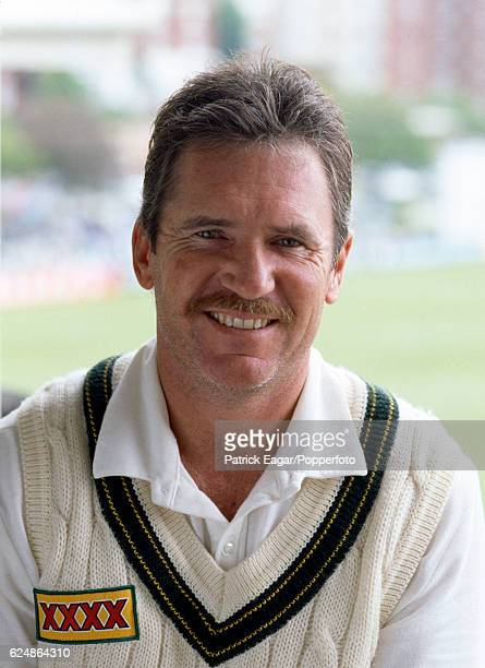 Australia captain Allan Border during the tour match between Sussex and the Australians at Hove 13th May 1993