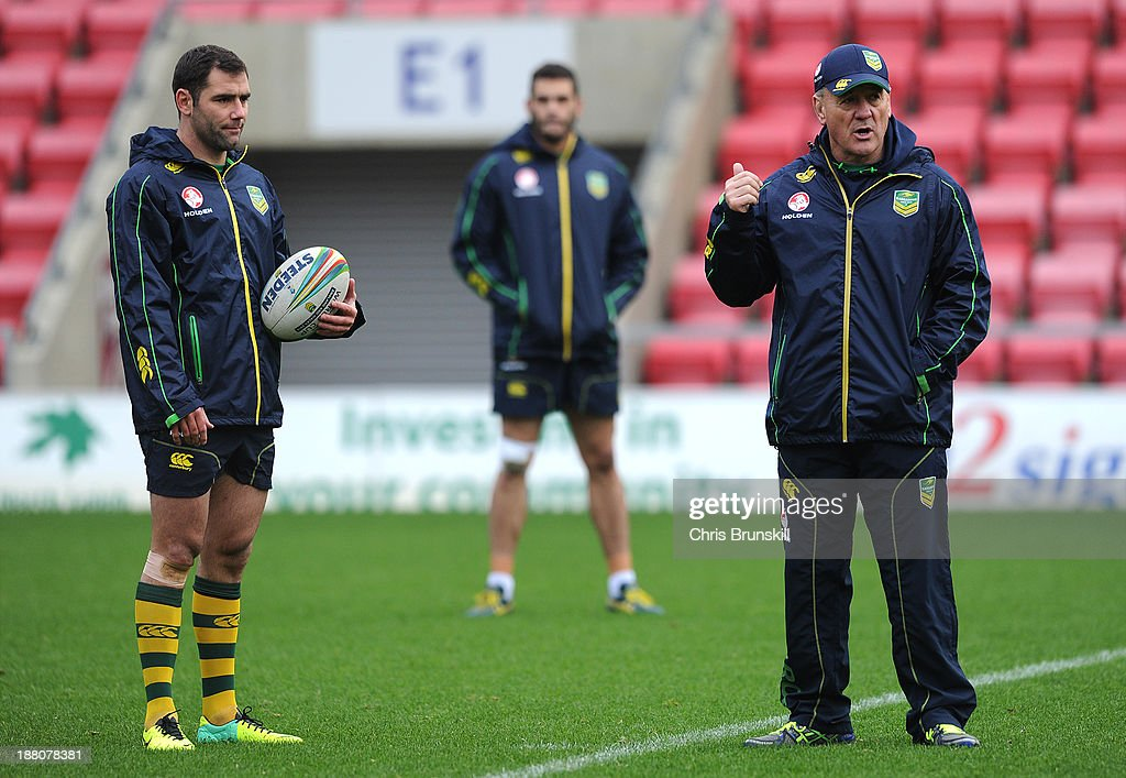 Australia Training Session - Rugby League World Cup