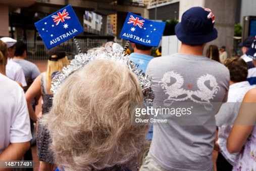 Australia day 26th january hair decorations and crowd at for 26 january decoration