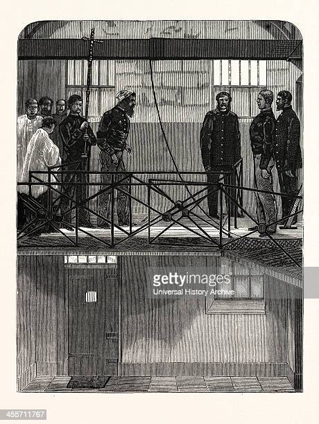 Execution Of Ned Kelly At Melbourne Victoria