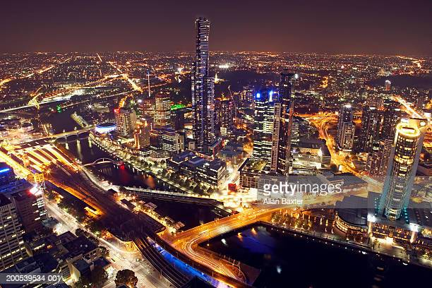 Australia, Melbourne, cityscape, elevated view from Rialto Tower