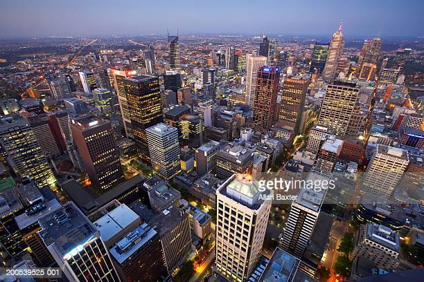 Australia, Melbourne, cityscape, view from Rialto Tower