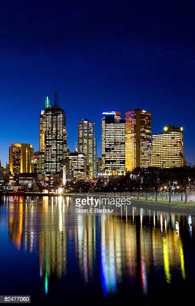 Australia, Melbourne, financial district