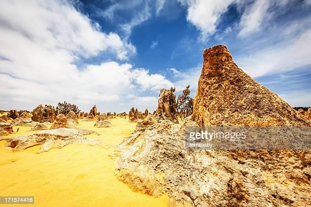 Australia Nambung National Park Pinnacles Desert