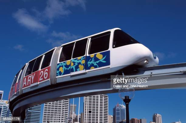 Australia, New South Wales, Sydney, Darling Harbour, Monorail