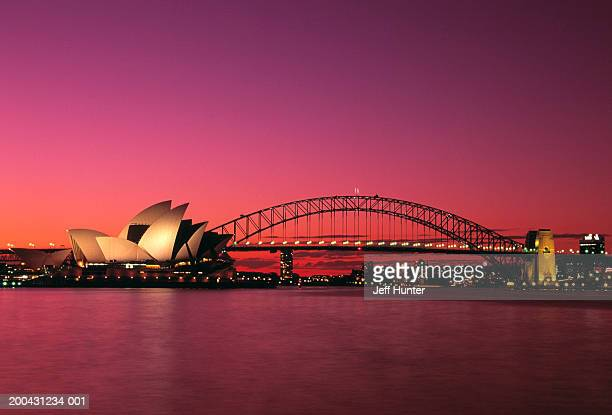 Australia, New South Wales, Sydney, Harbour Bridge and Opera House