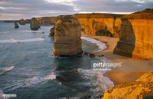 Australia Port Campbell NP The twelve Apostles coastal rock formations