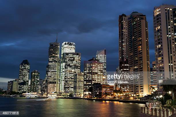 Australia, Queensland, Brisbane, Cityscape