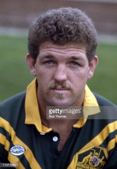 Australia rugby league player Greg Dowling November 1986