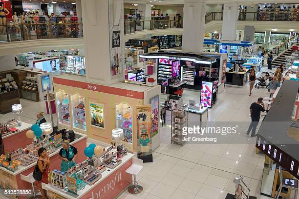 Australia Sydney Central Business District CBD George Street Myer department store shopping cosmetics perfume Benefit Revlon fashion The Strand Arcade
