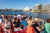 Australia Sydney Ferries Harbor harbor Sydney Opera House Parramatta River Darling Harbor ferry Circular Quay Terminal public transportation...