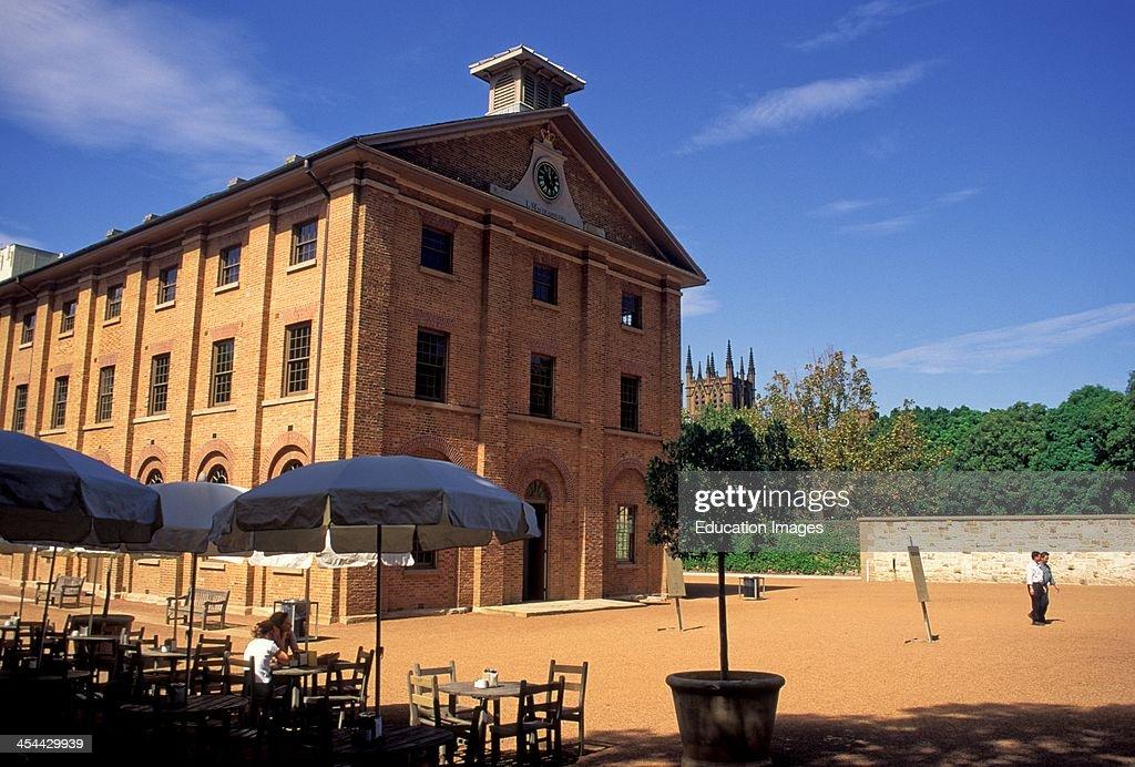 Australia Sydney Hyde Park Barracks 19Th Century Convict Era