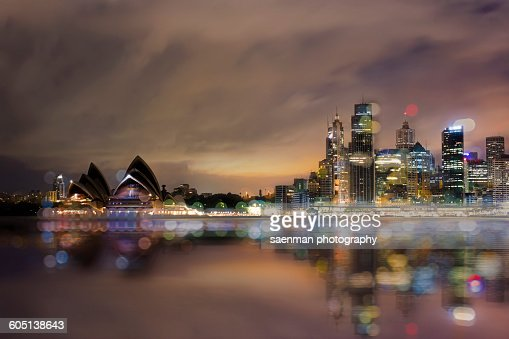 Australia, Sydney, Opera house and skyline
