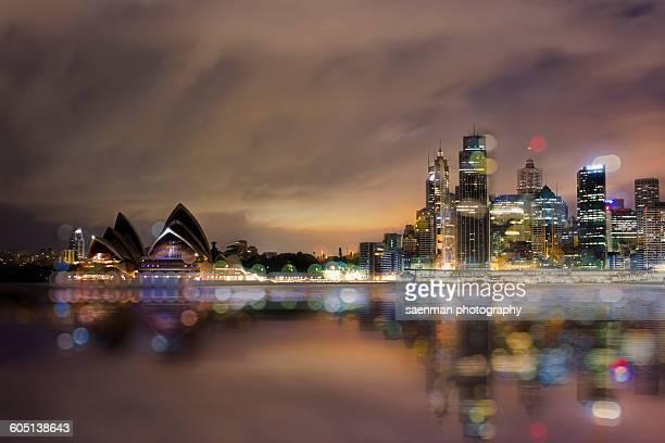 Australia, Sydney, Opera house and skyline