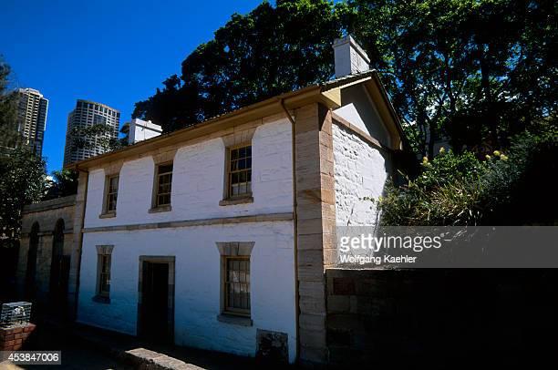 Australia Sydney The Rocks Cadman's Cottage Historic Site