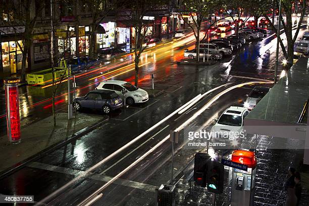 Australia, Victoria, Melbourne, City of Melbourne, Travelling city cars