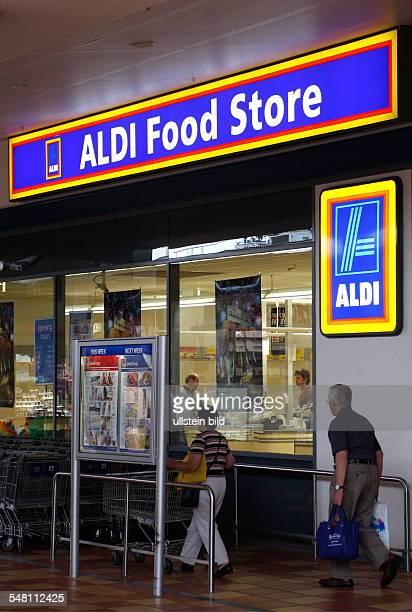 Australia Victoria Melbourne entrance Aldi Food Store