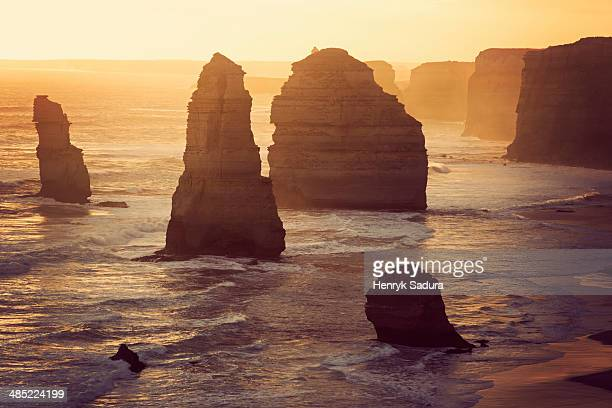 Australia, Victoria, Port Campbell, Twelve Apostles Rock Formation