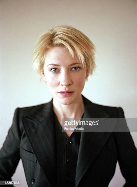 Australian actor Cate Blanchett on Friday 1 September 2002